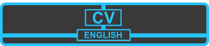 CV ENGLISH Adrian Rodrigo